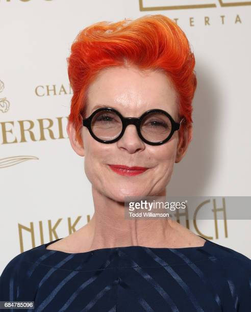 Sandy Powell attends the 'Wonderstruck' Cannes After Party on May 18 2017 in Cannes
