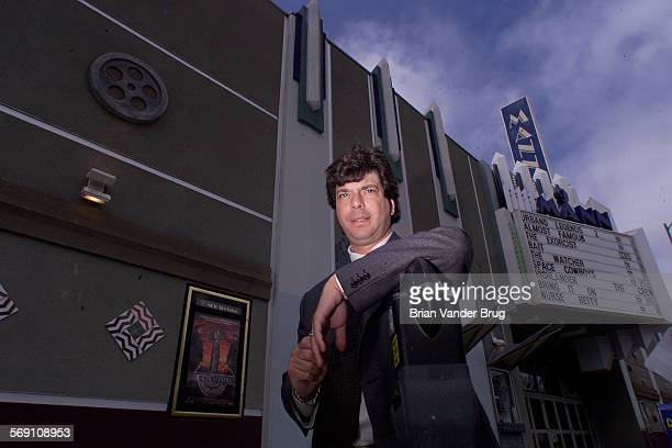 Sandy Sigal in front of a shopping center his company manages on Ventura Blvd in Encino Story is about slowing sales of shopping centers in Southern...