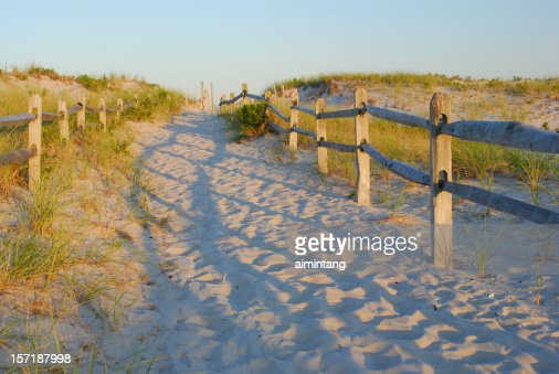 Sandy Walkway to Beach