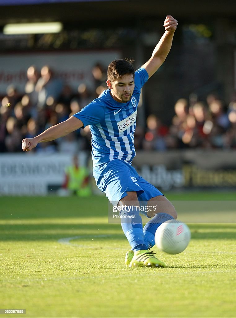 Sandy Walsh defender of Krc Genk pictured during UEFA Europa League third qualifying round 2nd Leg match between Cork City FC and KRC Genk on August...