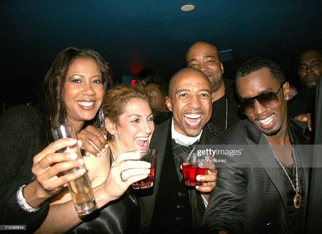 Sandye Lomax, Julie Greenwald, Kevin Liles, Chris Lighty and Sean 'Diddy' Combs