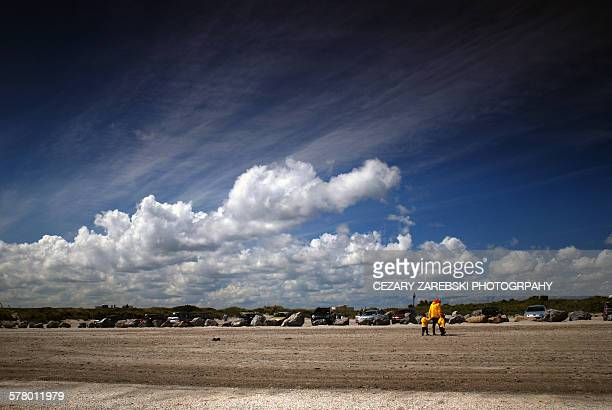 Sandymount strand on the Dublin coast