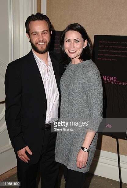 Sanford Bookstaver and Rena Sofer during Diamond Information Center and InStyle Host 6th Annual Awards Season Diamond Fashion Show Preview Arrivals...