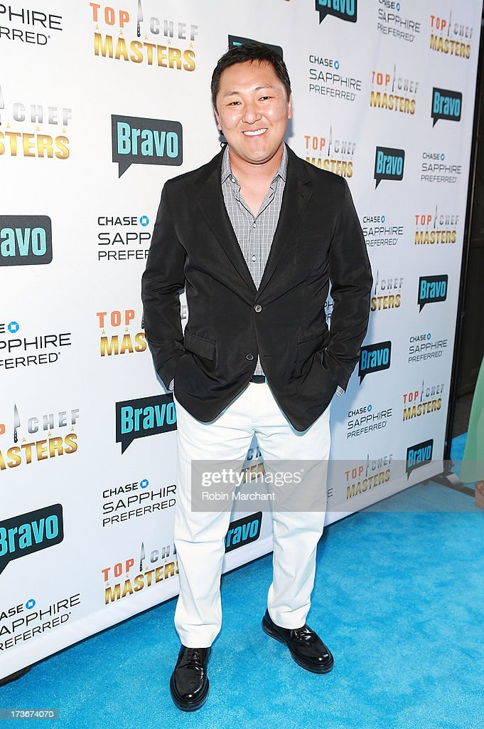 Sang Yoon attends Bravo's 'Top Chef Masters' Season 5 Premiere Celebration at 82 Mercer on July 16, 2013 in New York City.