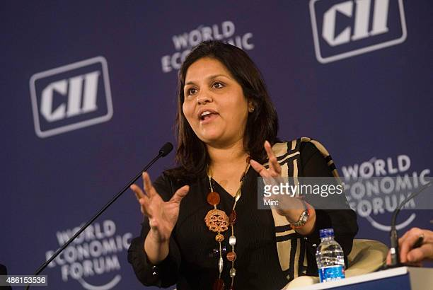 Sangita Reddy Executive Director Operations Apollo Hospitals Enterprise India at the plenary session on Shaping India's Mobile Health Ecosystem at...