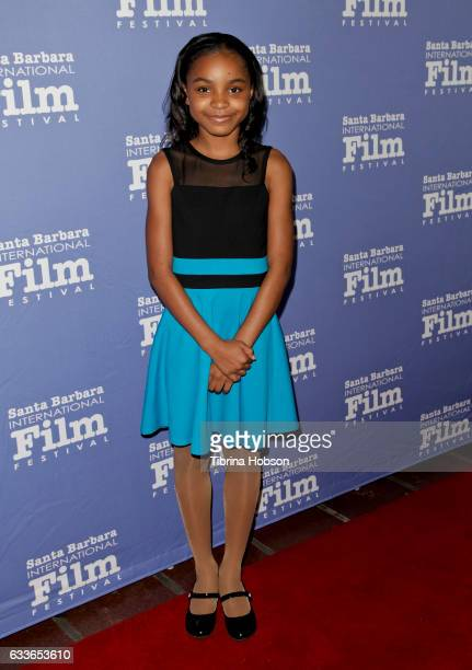 Saniyya Sidney attends the Maltin Modern Master Award tribute during the 32nd Santa Barbara International Film Festival at the Arlington Theater on...