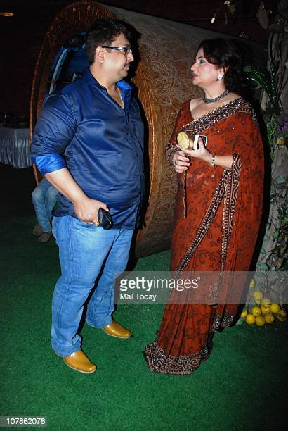 Sanjay Bedia and Salma Agha at her bash Dockyard in Mumbai