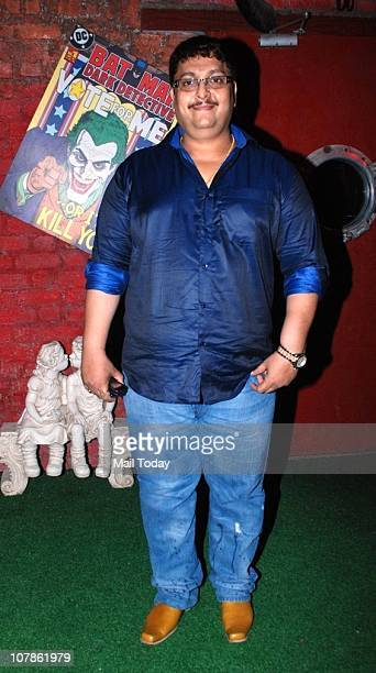 Sanjay Bedia at Salma Agha's bash at Dockyard in Mumbai