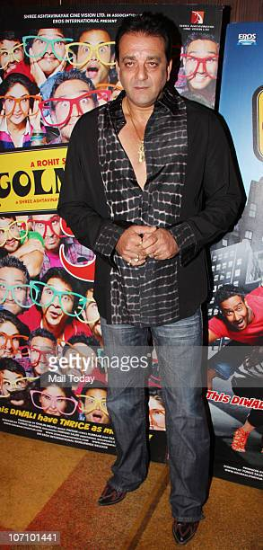 Sanjay Dutt at Golmaal 3 success party in Mumbai on November 22 2010