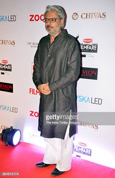 Sanjay Leela Bhansali at 61st Filmfare PreAwards Party in Mumbai