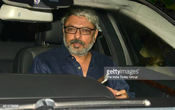 Sanjay Leela Bhansali at Priyanka Chopra's birthday party in Mumbai