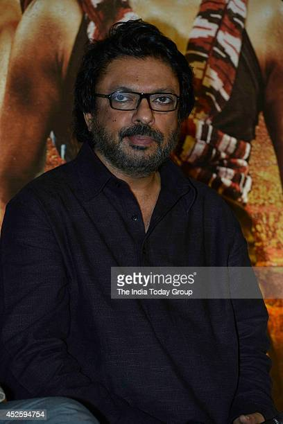 Sanjay Leela Bhansali at the trailer launch of his upcoming movie Mary Kom in Mumbai