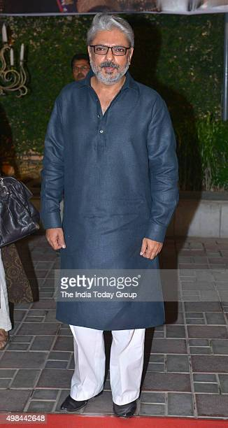 Sanjay Leela Bhansali at the trailer launch of his upcoming movie Bajirao Mastani in Mumbai