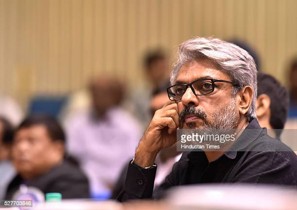 Sanjay Leela Bhansali wins the Best Director award for 'Bajirao Mastani' during the National Film Awards presentation ceremony at Vigyan Bhawan on...