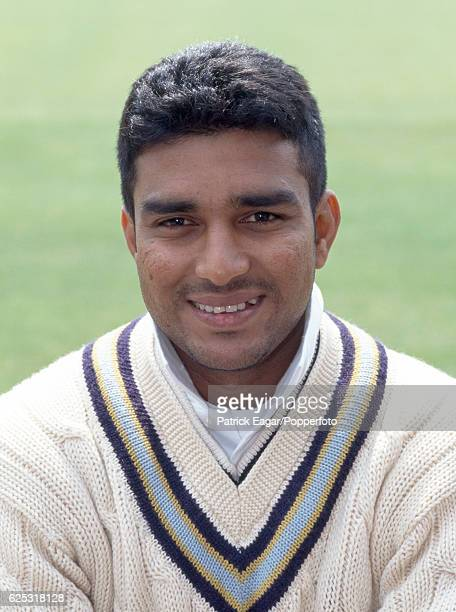 Sanjay Manjrekar of India during the 1996 tour of England circa May 1996