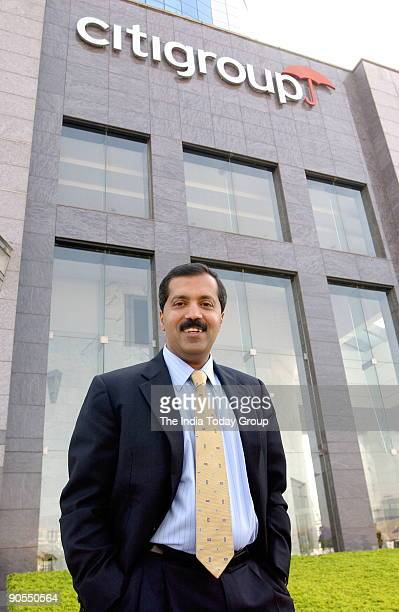 Sanjay Nayar CEOIndia fo Citi Group at his office in Mumbai Maharashtra India
