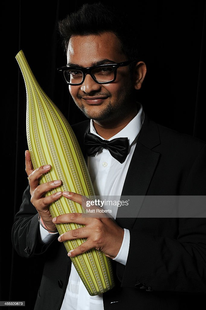 Sanjay Ram poses for a portrait during the Asia Pacific Screen Awards (APSA) at Brisbane City Hall on December 12, 2013 in Brisbane, Australia.