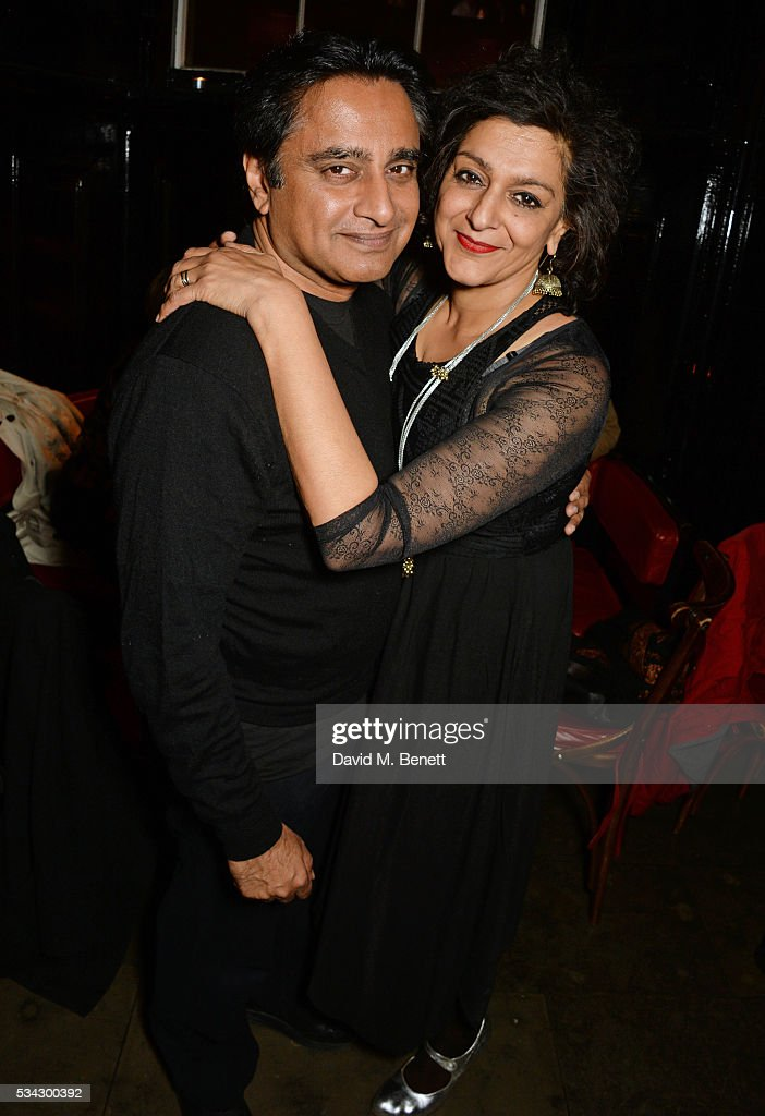 Sanjeev Bhaskar and Meera Syal attend the press night after party for The Kenneth Branagh Theatre Company's 'Romeo And Juliet' at The The National...