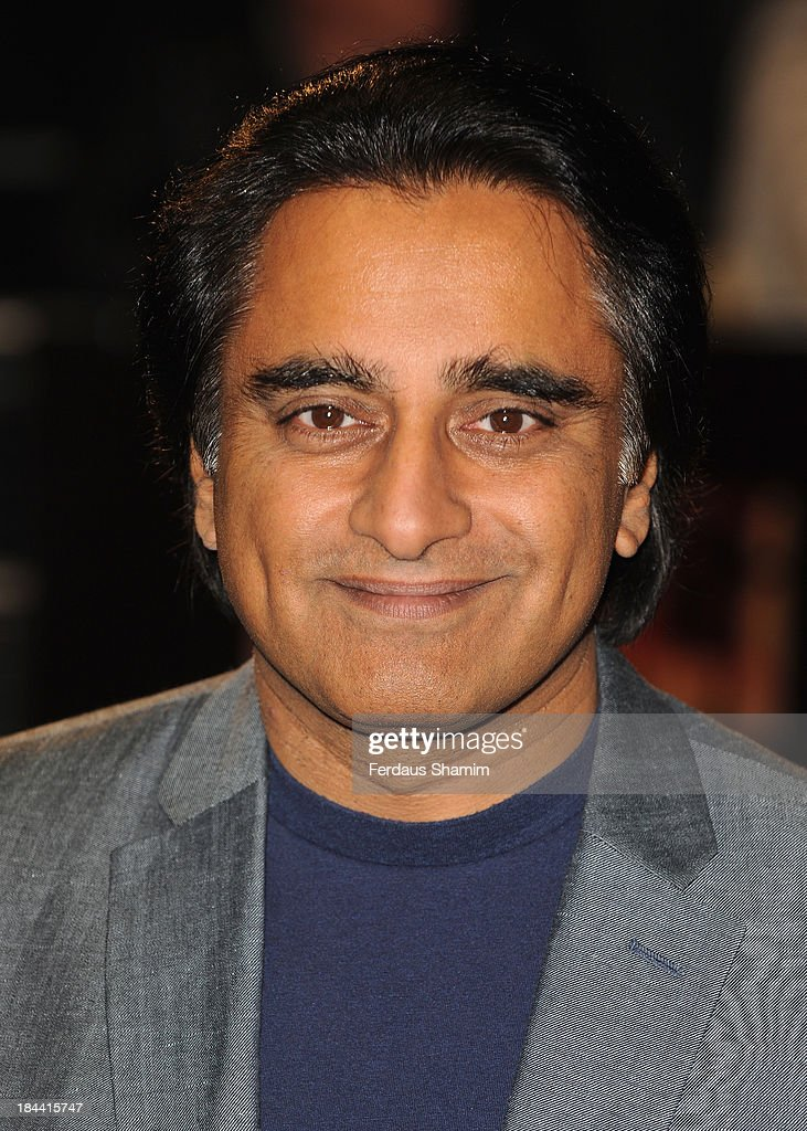 Sanjeev Bhaskar attends a screening of 'Zero Theorem' during the 57th BFI London Film Festival at Odeon West End on October 13 2013 in London England