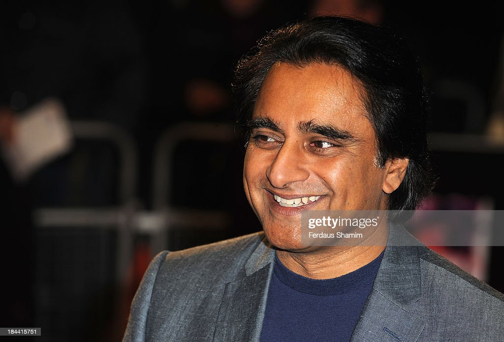 <a gi-track='captionPersonalityLinkClicked' href=/galleries/search?phrase=Sanjeev+Bhaskar&family=editorial&specificpeople=703950 ng-click='$event.stopPropagation()'>Sanjeev Bhaskar</a> attends a screening of 'Zero Theorem' during the 57th BFI London Film Festival at Odeon West End on October 13, 2013 in London, England.