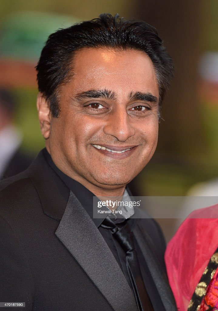 Sanjeev Bhaskar attends The Asian Awards 2015 at The Grosvenor House Hotel on April 17 2015 in London England