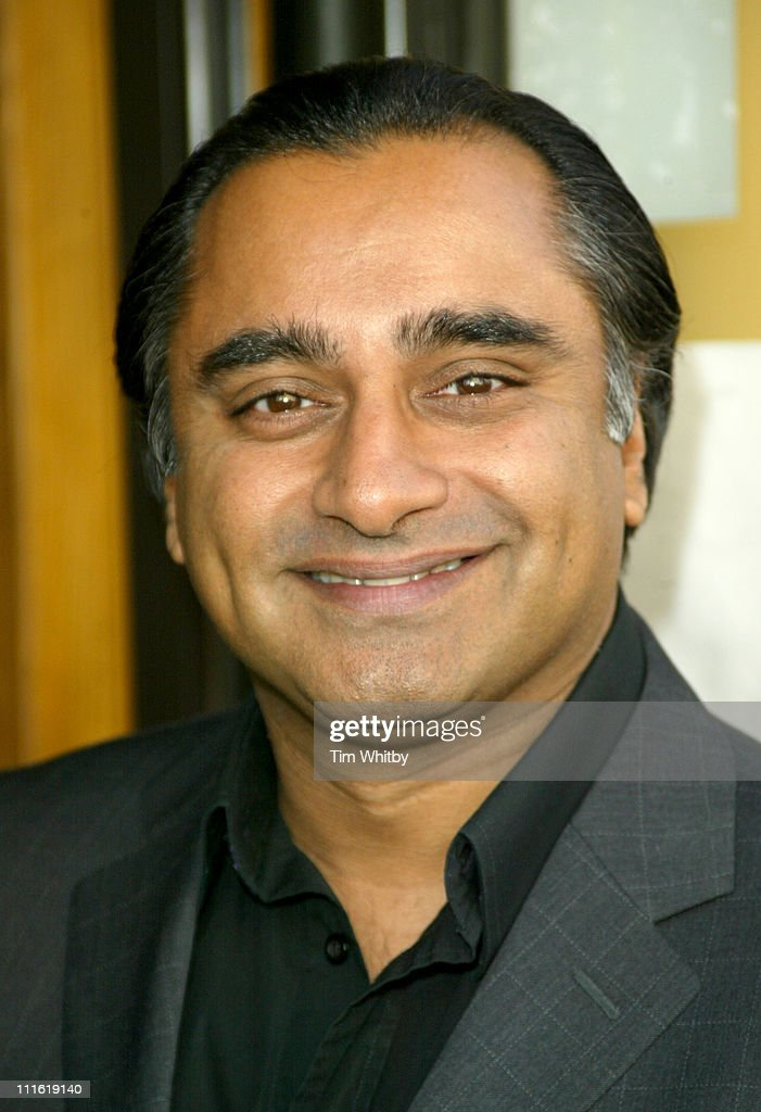 Sanjeev Bhaskar during Best of British Comedy Lunch September 29 2005 at BAFTA in London Great Britain