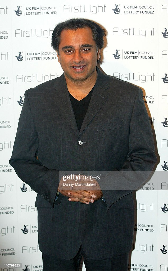 Sanjeev Bhaskar during First Light Movies Awards 2007 Photocall at Odeon West End in London Great Britain