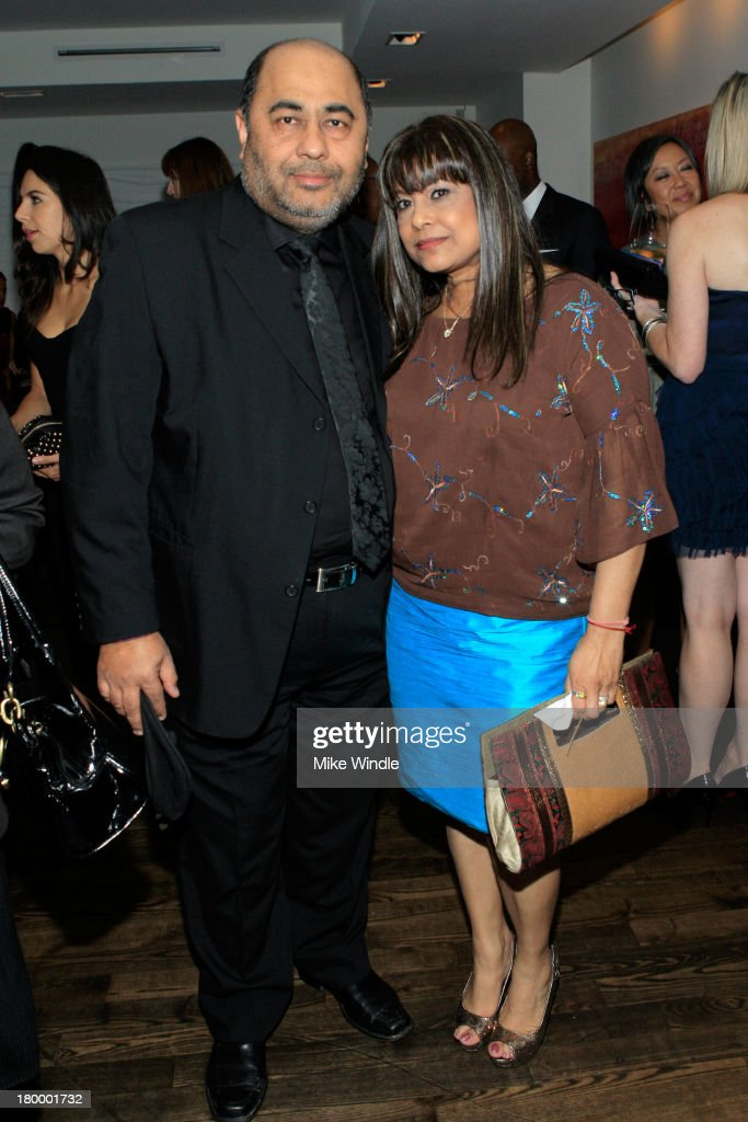 Sanjeev Singh and Chandra Singh attend the Burberry supported premiere and celebration of 'Mandela: Long Walk to Freedom' hosted by The Weinstein Company and Entertainment One at the Toronto International Film Festival on September 7, 2013 in Toronto, Canada.