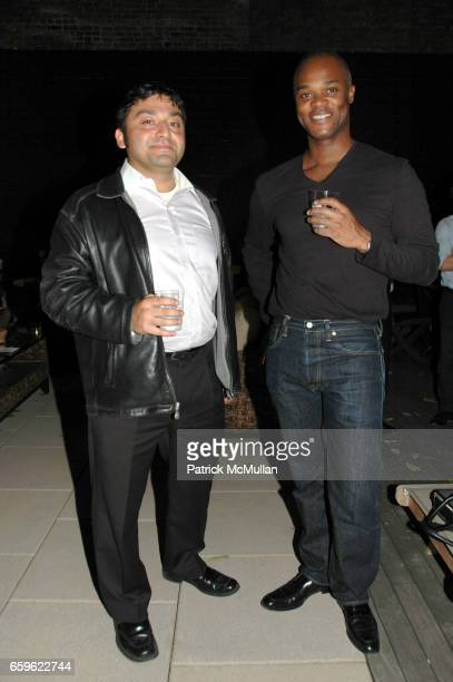 Sanjib Kalita and Darius Murray attend JOSH GUBERMAN CORE DEVELOPMENT and Four Hundred HOST LUX 74 TOWNHOME Launch Party at 433 East 74th Street on...
