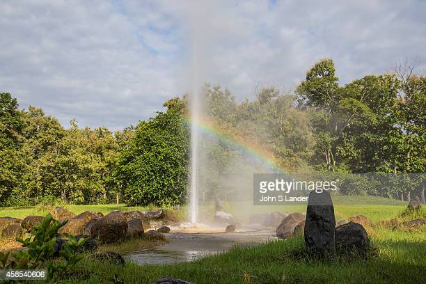 Sankampaeng Hot Springs is made up of a forty acre park containing geysers footbaths picnic areas and hot springs The park has been nicely landscaped...