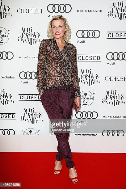 Sanna Englund attends the Audi Fashion Award 2014 on October 09 2014 in Hamburg Germany