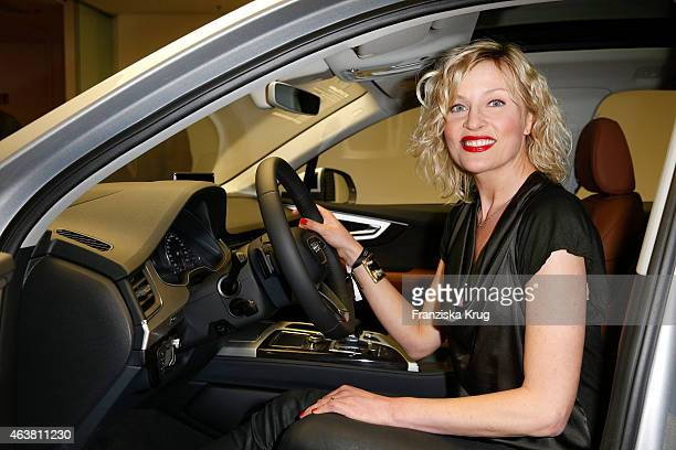 Sanna Englund attends the AUDI Terminal Opening on February 18 2015 in Hamburg Germany