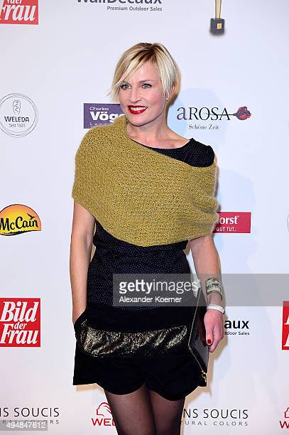 Sanna Englund attends the 'Goldene Bild Der Frau' Award 2015 at Stage Operettenhaus on October 29 2015 in Hamburg Germany