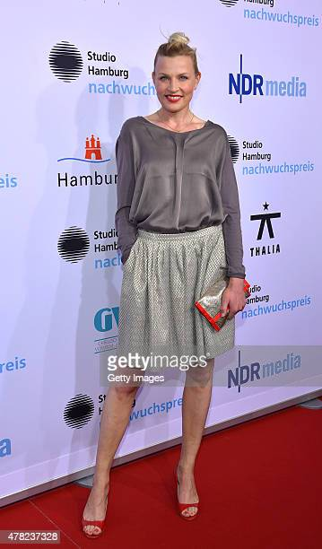 Sanna Englund attends the Studio Hamburg Nachwuchspreis 2015 at Thalia Theater on June 23 2015 in Hamburg Germany