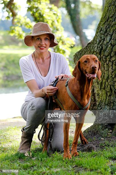 Sanna Englund attends the Till Demtroders CharityEvent 'Usedom Cross Country' on September 10 2016 near Heringsdorf in Usedom Germany