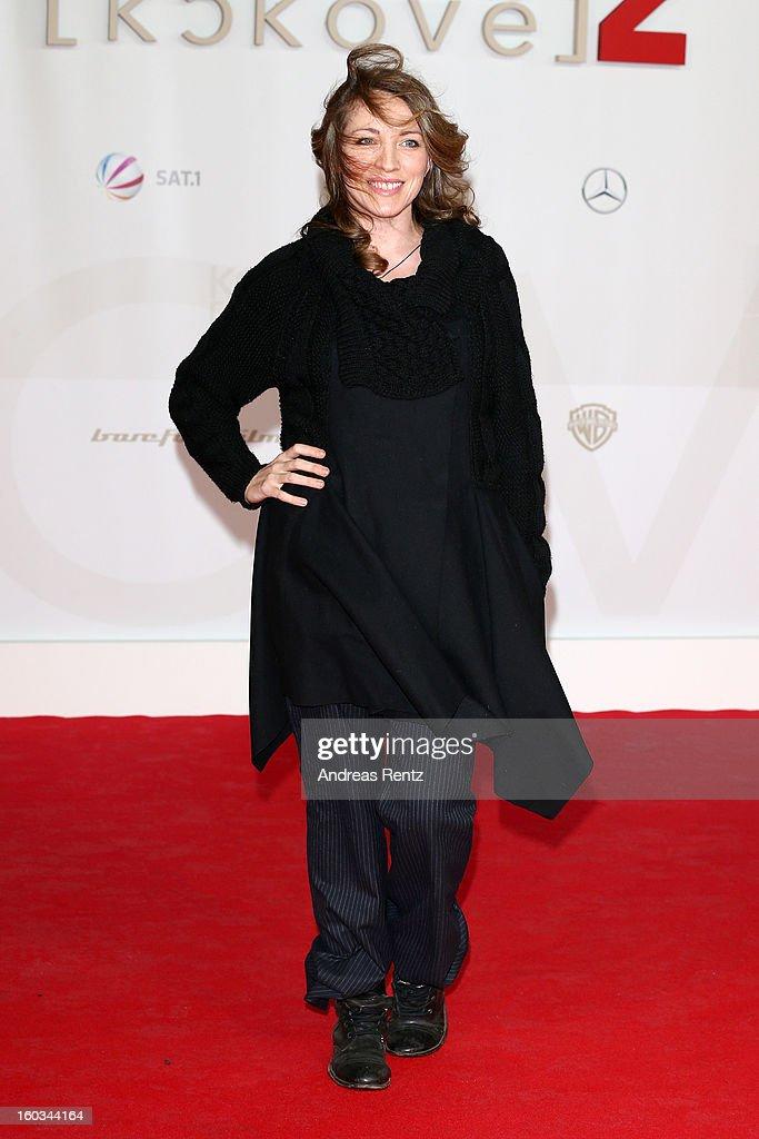 Sanny van Heteren attends 'Kokowaeaeh 2' - Germany Premiere at Cinestar Potsdamer Platz on January 29, 2013 in Berlin, Germany.