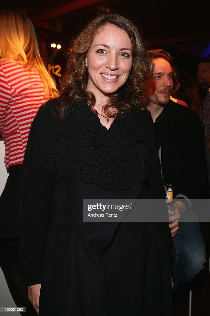 Sanny van Heteren attends the after show party to 'Kokowaeaeh 2' - Germany Premiere at Astra on January 29, 2013 in Berlin, Germany.