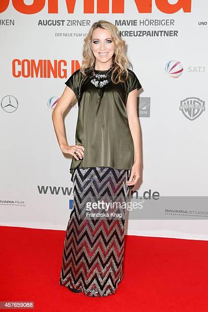 Sanny van Heteren attends the 'Coming In' Premiere in Berlin on October 22 2014 in Berlin Germany