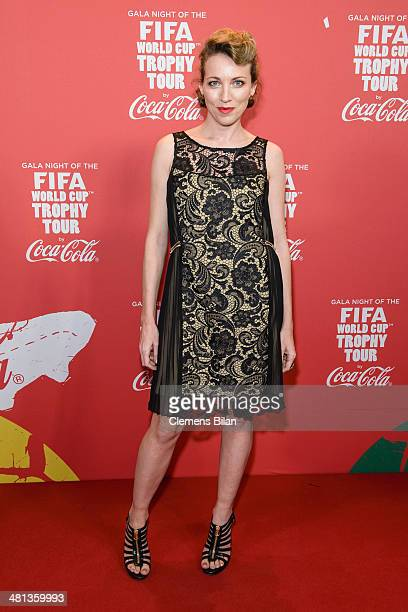 Sanny van Heteren attends the Gala Night of the FIFA World Cup Trophy Tour on March 29 2014 in Berlin Germany