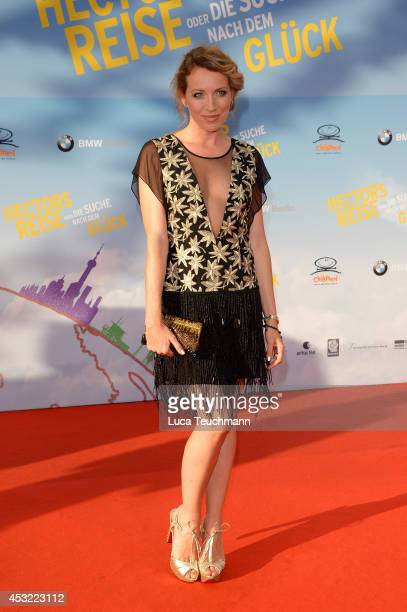 Sanny van Heteren attends the premiere of the film 'Hector and the Search for Happiness' at Zoo Palast on August 5 2014 in Berlin Germany