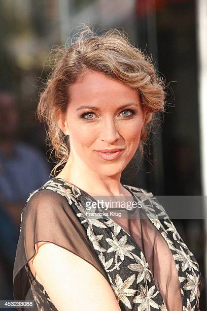 Sanny van Heteren attends the premiere of the film 'Hector and the Search for Happiness' at Zoo Palast on August 05 2014 in Berlin Germany
