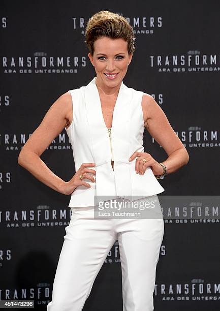 Sanny van Heteren attends the premiere of the film 'Transformers Age of Extinction' at Sony Centre on June 29 2014 in Berlin Germany