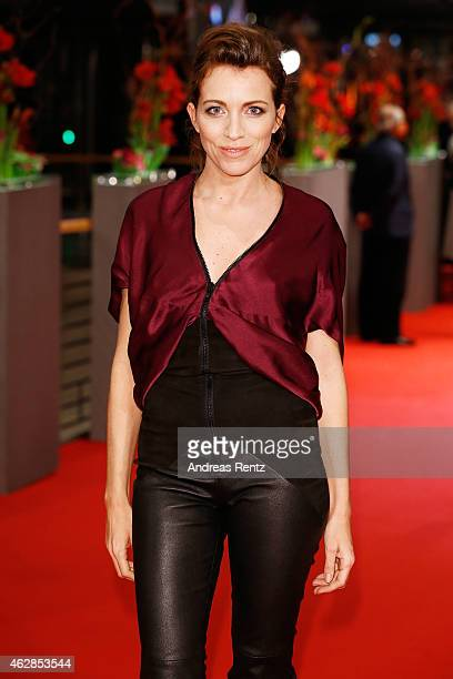 Sanny van Heteren attends the 'Queen of the Desert' premiere during the 65th Berlinale International Film Festival at Berlinale Palace on February 6...