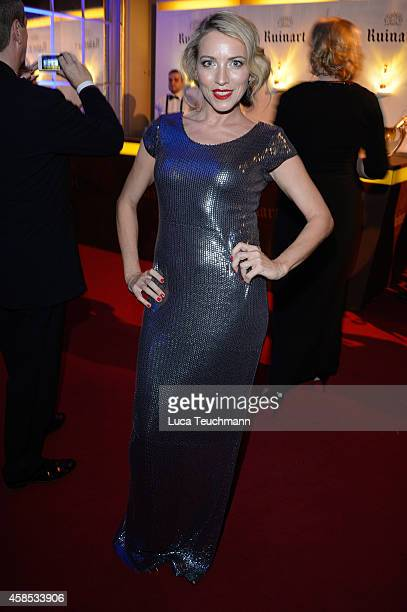 Sanny van Heteren is seen at the after show party of the GQ Men Of The Year Award 2014 after show party at Komische Oper on November 6 2014 in Berlin...
