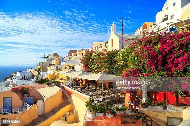 Sanorini by day, Greece