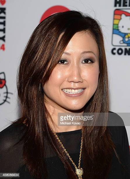 Sanrio President/COO Janet Hsu attends the Hello Kitty Con 2014 Opening Night Party on October 29 2014 in Los Angeles California