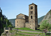 The ancient Romanesque church is located in Canillo. It was built of rough stone in the XI - XII centuries. It has got a rectangular nave, a semicircular apse and the Lombard style bell tower.