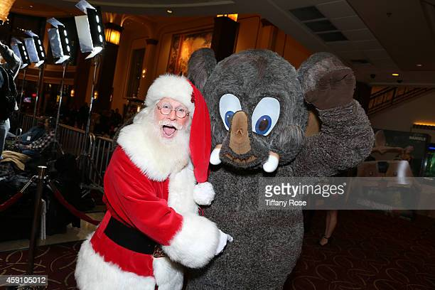 Santa attends The Grove's 12th Annual Christmas Tree Lighting Spectacular Presented By Citi at The Grove on November 16 2014 in Los Angeles California