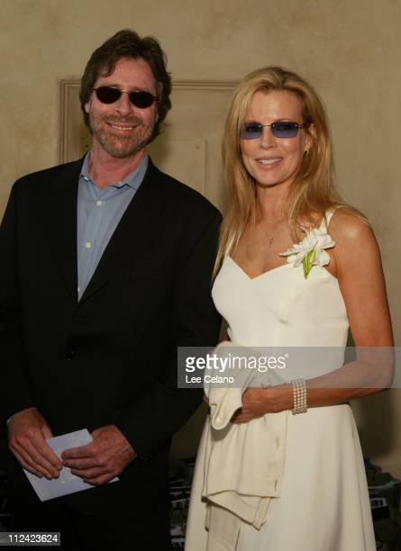 Santa Barbara International Film Festival president Arnold Kassoy and Kim Basinger