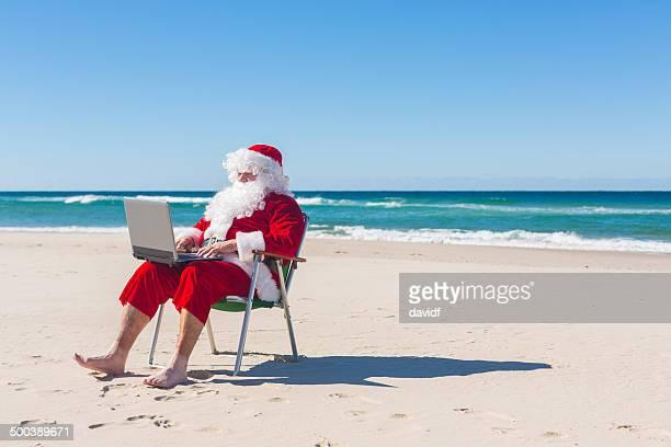 Santa Beach Computer